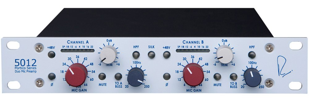 Neve Portico 501Dual Channel Mic Pre Amp